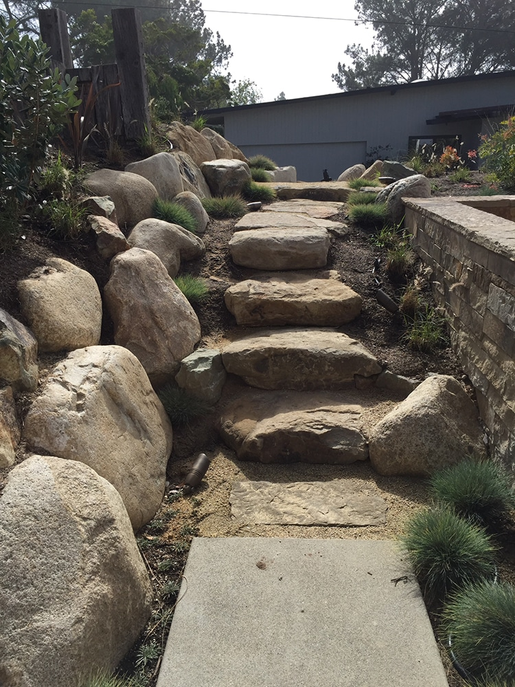 Landscaped Paths and Stairs