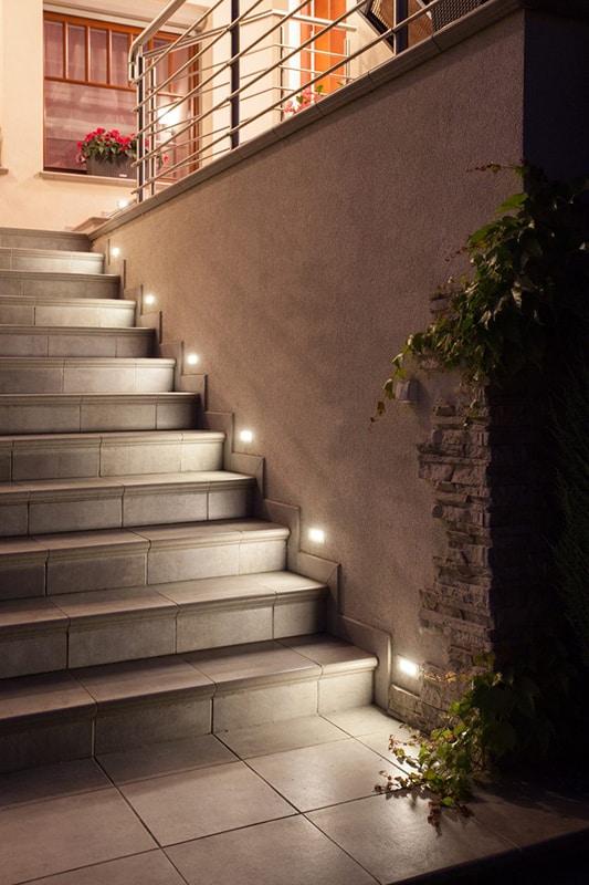 Custom Staircase Lighting San Diego