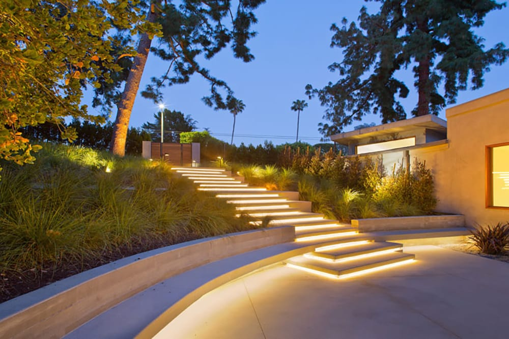 Stair Case Light Installation San Diego
