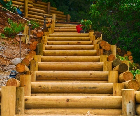 Custom Outdoor Stair Contractor