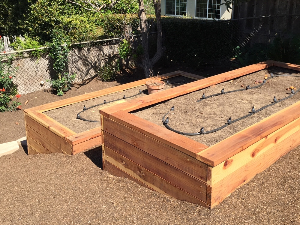 Edible Garden Irrigation System San Diego